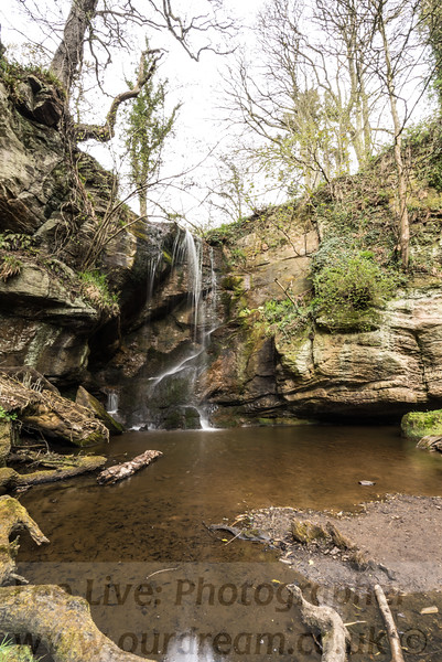 Roughting Lynn Waterfall
