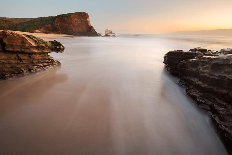 Panther Beach Sunset, Santa Cruz, CA