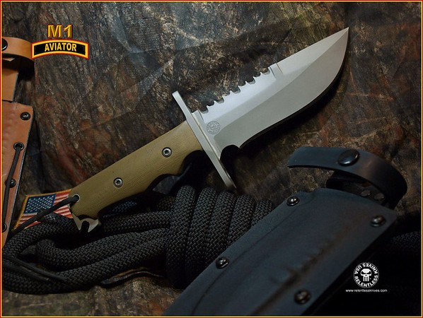 Relentless Knives M1 Aviator 3V 25X48927491794240
