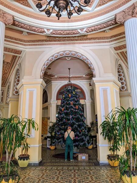 Christmas in Cuba Havana Plaza Hotel.jpg