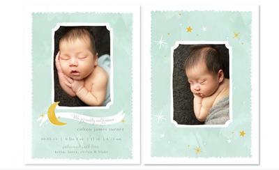 Custom Cards [baby + family]