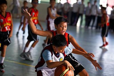 Elementary Basketball 2014 SFAMSC vs LCSI