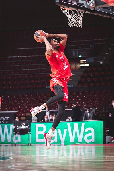 Basketball Euroleague: FC Bayern Munich VS Olimpia Milano