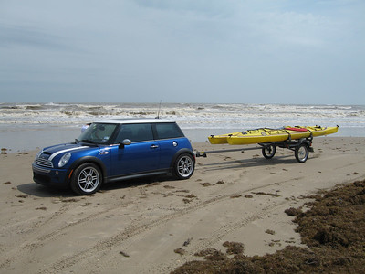MINI Cooper Caravan to Galveston - April 2006