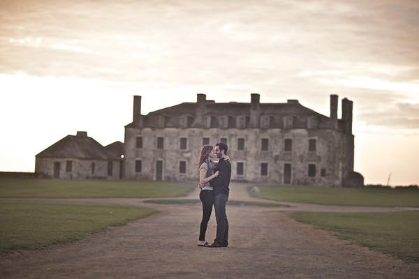 Bethany & Michael ~ Fort Niagara