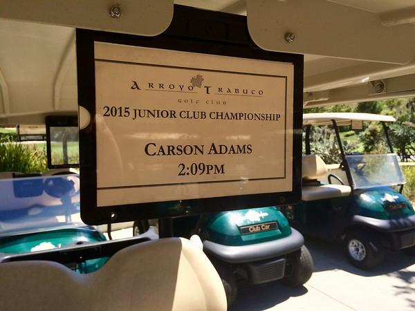 2015-08-16, Arroyo Trabuco Jr. Golf Championship