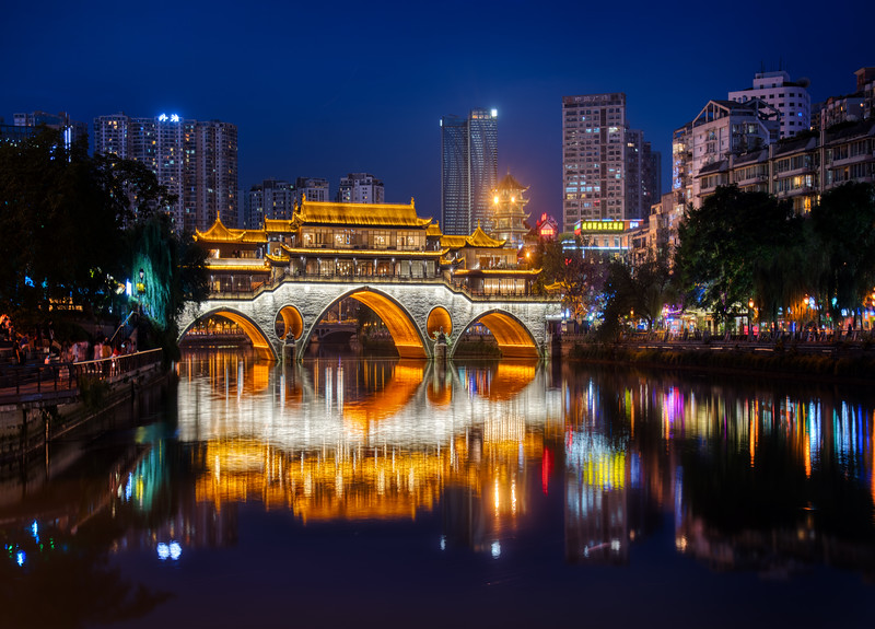 The Bridge that is Either in Chengdu or Tianjin