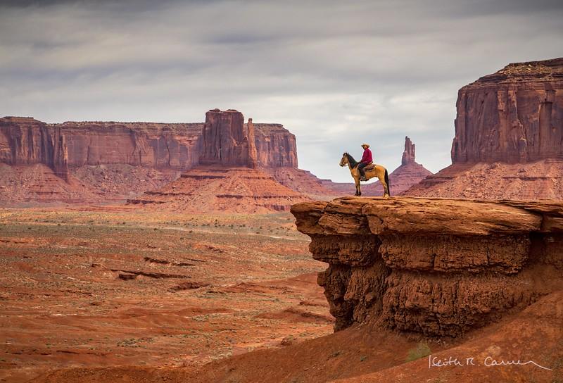 Navajo on horse - John Ford Point Monument Valley AZ  - April 07, 2017-Edit.jpg