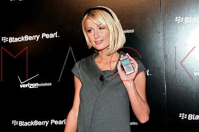 The Tuesday, Jan 29, 2008 Launch Party For The New BlackBerry Pearl 8130 Smartphone at The IAC Building.