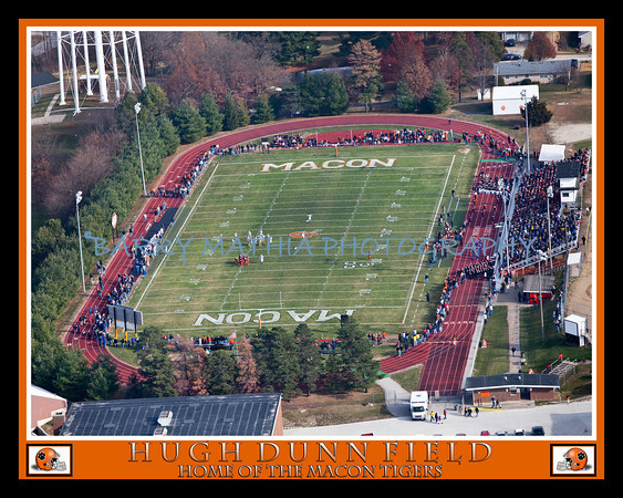 Hugh Dunn Field Aerial shot finished