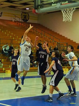 Boys JV & Varsity Basketball 12/17/13