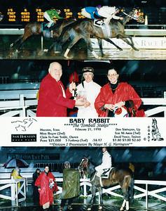 BABY RABBIT - 2/21/1998