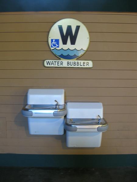 Water bubbler.