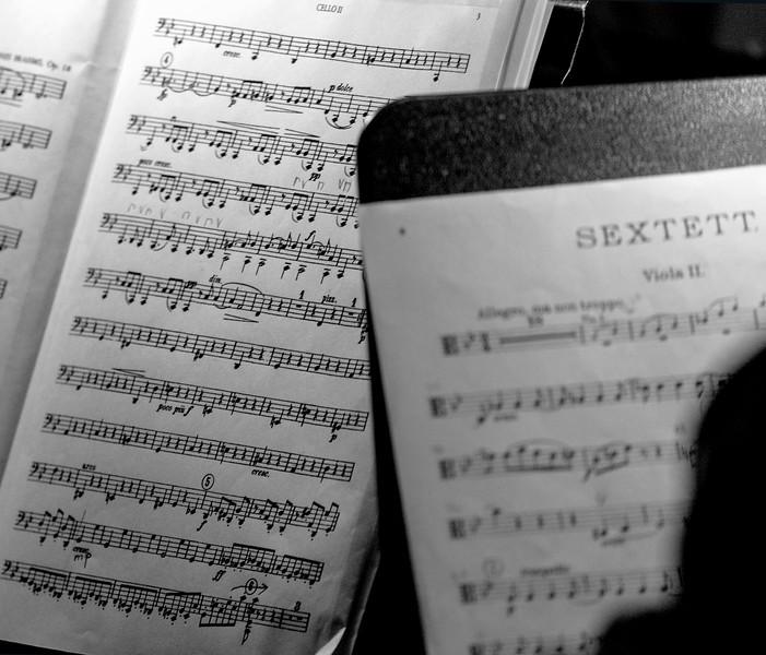 Brahms scores