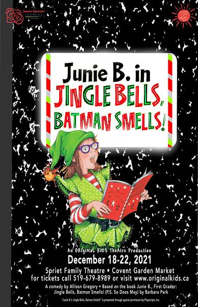 Fall 2021 - Junie B. in Jingle Bells, Batman Smells!