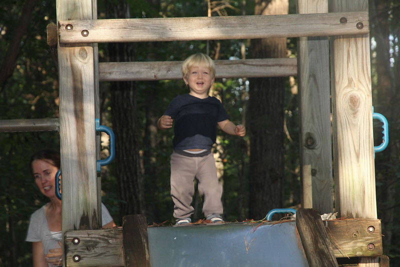 liking the slide