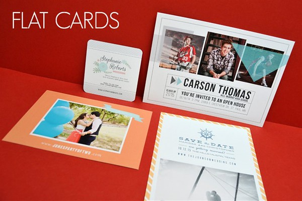 Invitations, Announcements and Cards Page