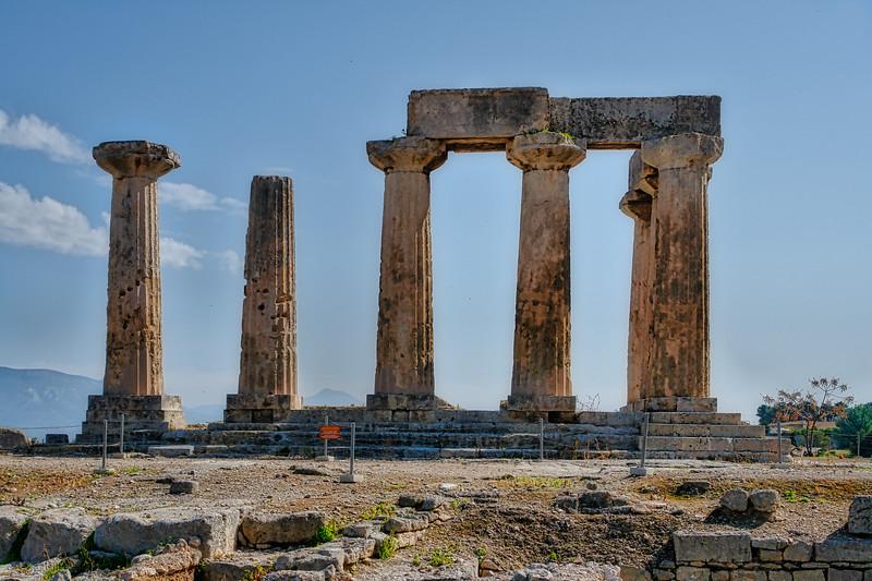 Ancient Corinth Temple of Apollo