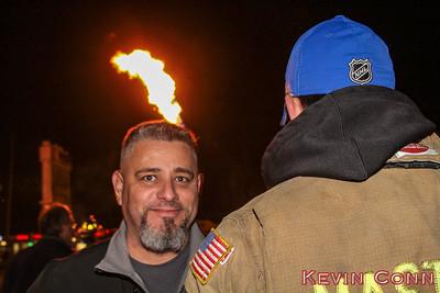 1-18-17 Gas Tank Leak, Controlled Burn Off