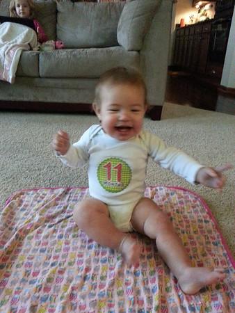 Dannie 11 Months Old