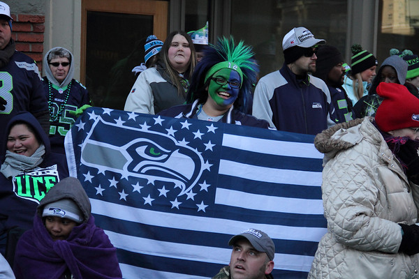 Seahawks Superbowl Victory Parade