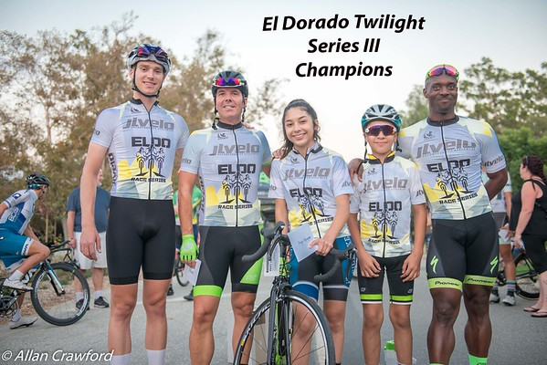 El Do Series III 2017 Podium