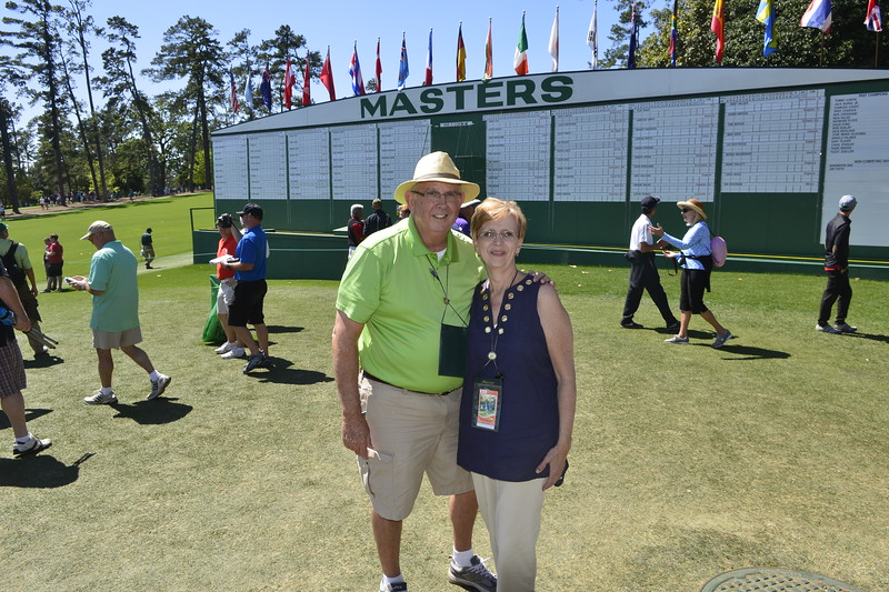 Augusta National, The Masters 2016