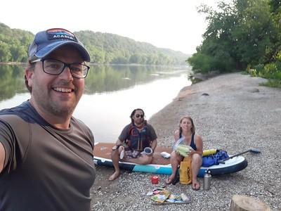7.11.21 Kayaking Brunswick to Point of Rocks Potomac