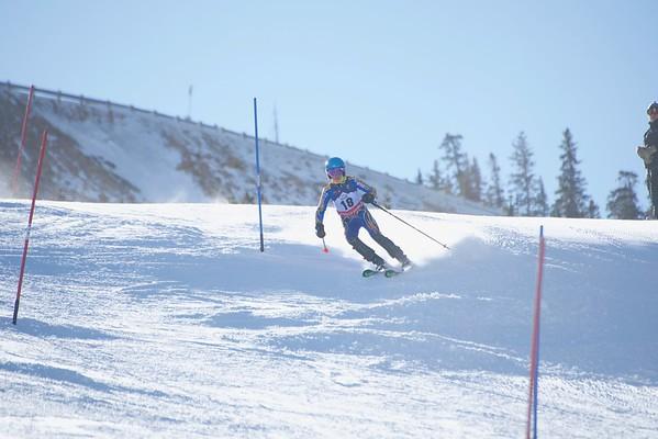 3-17-18 Tengdin Memorial Slalom at Loveland Run #1