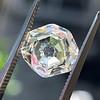 2.12ct Octagonal Flat Cut Diamond, GIA M VS2 9