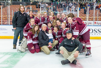 2018-2019 HHS GIRLS HOCKEY VS EXETER  NH D1 STATE CHAMIONSHIP GAME