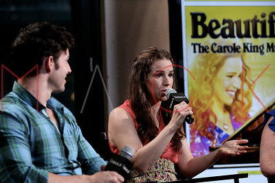 """New York, NY - July 30:  The BUILD Speaker Series: Discussing the Tony-winning musical """"Beautiful: The Carole King Musical"""", New York, USA."""