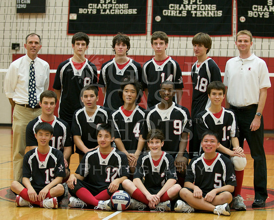 2008 VB Varsity Boys Portraits