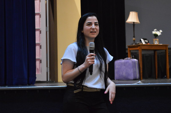 Visit from Alumna Alina Rich