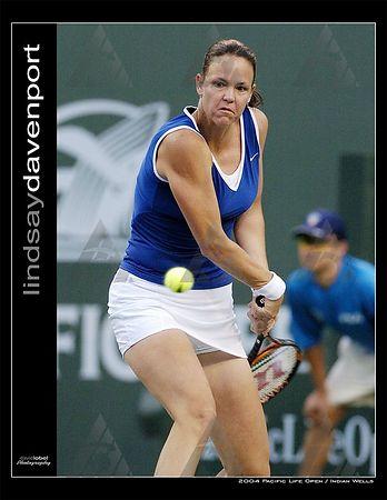 WTA R2: Lindsay Davenport def. Mara Santangelo