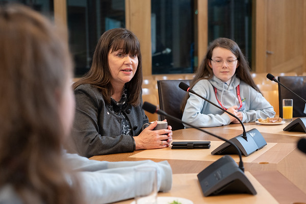 Children In Scotland - Parliament Visit
