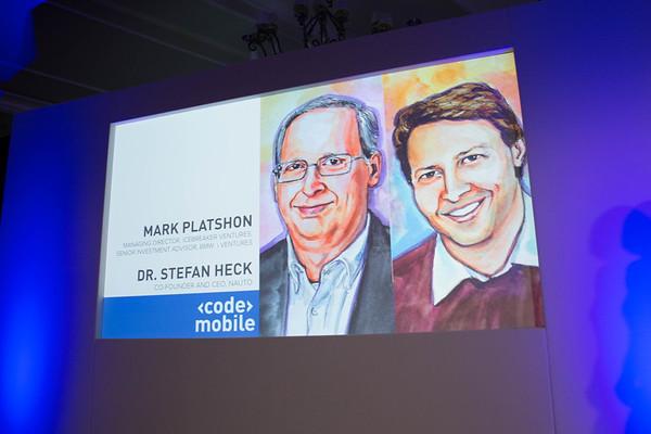 Mark Platshon and Dr. Stefan Heck