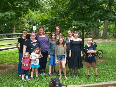 Visit w/Tanya & Elijah July 2014