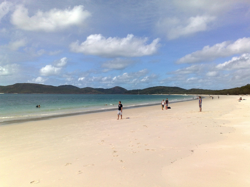 20090621_1255_523 Whitehaven Beach, Whitsunday Island.