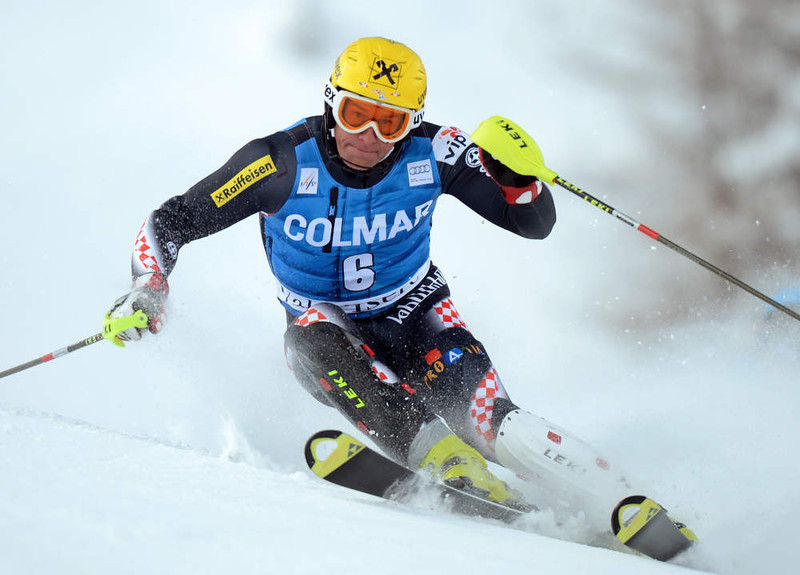 . Croatia\'s Ivica Kostelic competes in the first run of FIS World Cup men\'s slalom on December 8, 2012 in Val d\'Isere, French Alps.     AFP PHOTO/PHILIPPE  DESMAZES/AFP/Getty Images