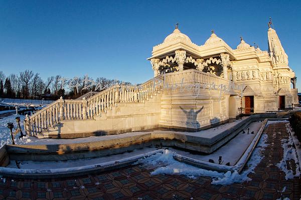 Baps Hindu Temple, Bartlett, IL 2016