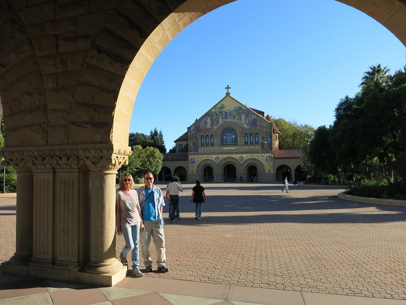 Shani, Yuval. Background, Memorial Church, Stanford
