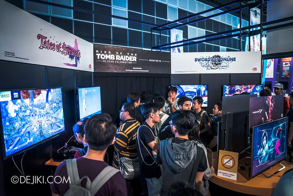 GameStart 2016 - Bandai-Namco booth