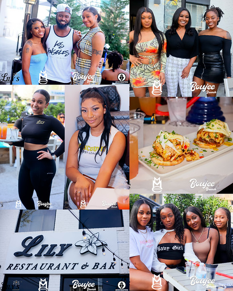 BOUJEE BRUNCH @ LILY'S  3-14-21