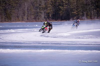 Bikes on the ice