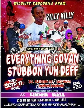 """KILLY KILLY """"EVERYTING GOVAN-STUBBORN YUH DEFF""""(10)"""