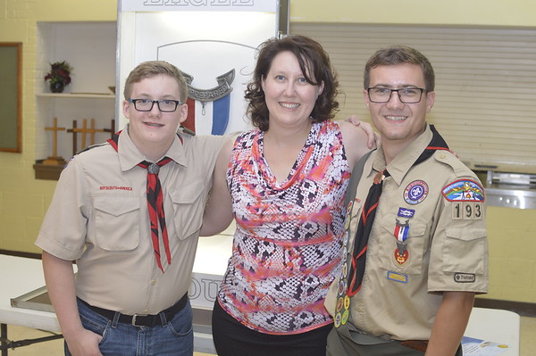Ethan's Eagle Scout Court of Honor