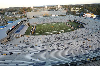 25694 WVU Football vs. Auburn Remote Camera on Press Box Roof