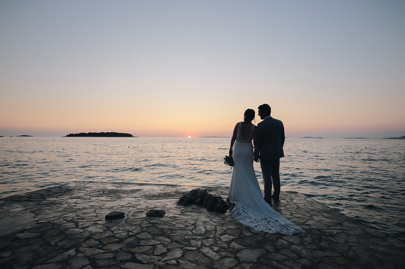 Louise & Jason, Primosten, Croatia