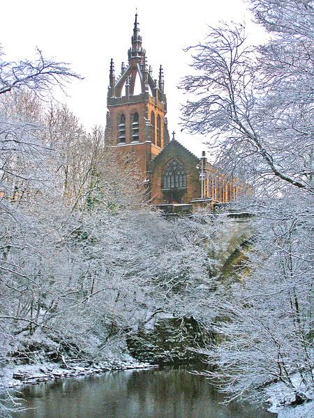Stevenson Memorial Church, Belmont Bridge, Glasgow. 20/12/09